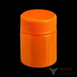 ПЭТ банка БП 40 мл оранжевый цвет