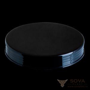 Крышка Арни 120 мм чёрная