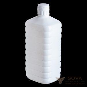 ПЭТ флакон Септик 1000 мл белый крышка