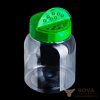ПЭТ банка Воль 400 с зеленой резьбовой крышкой