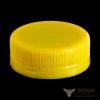 Резьбовая крышка МИГ bericap 38 - желтый