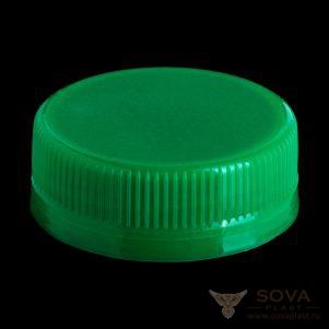 Резьбовая крышка МИГ bericap 38 - зеленый 1