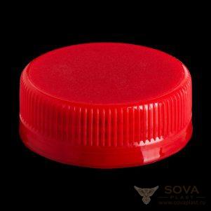 Резьбовая крышка МИГ bericap 38 - красный 1